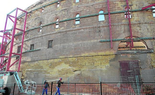 Comienza la obra que permitirá restaurar el Anfiteatro Romano