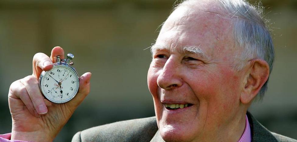 Muere Roger Bannister, el primero que corrió la milla en menos de cuatro minutos