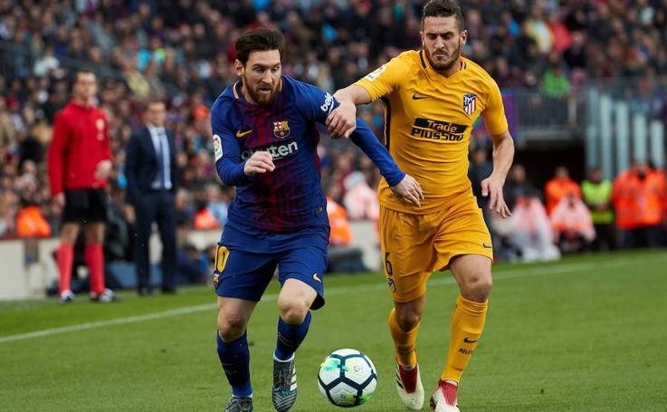 Las mejores imágenes del Barcelona-Atlético