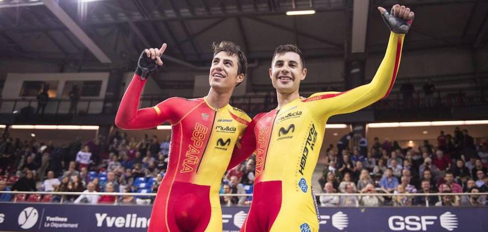 Mora y Torres, plata en los Mundiales en pista