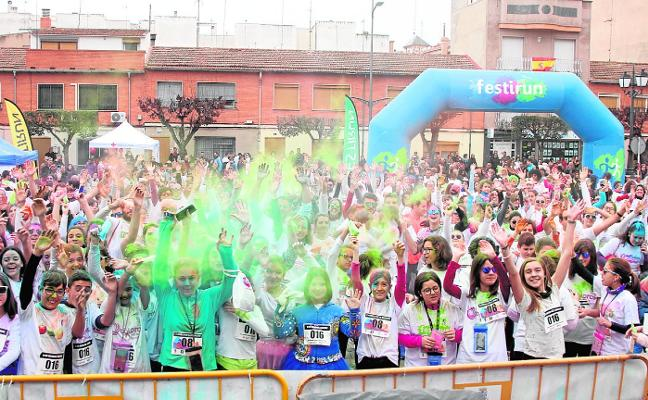 Color y deporte en Jumilla por la igualdad de género