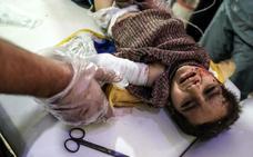 Al menos 35 civiles muertos por los bombardeos del régimen sirio contra Guta