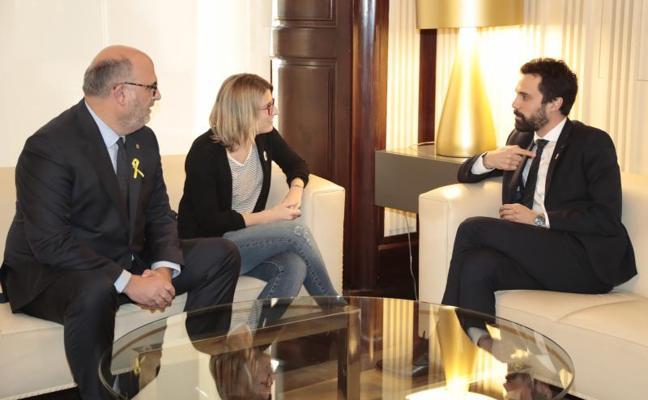 Torrent propone a Jordi Sànchez como candidato sin fijar la fecha del pleno