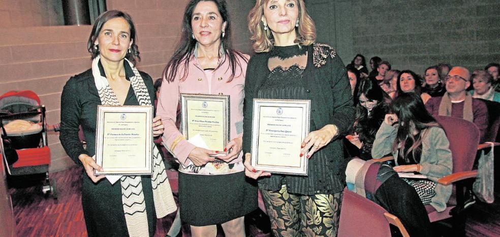 Premiadas por fomentar la igualdad en el ámbito judicial