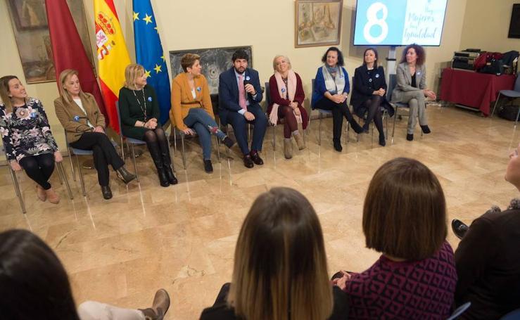 López Miras anuncia el II Plan de Igualdad de la Administración regional