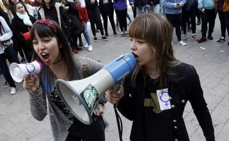 La huelga feminista toma la Región