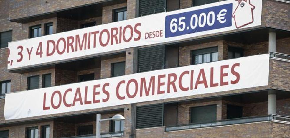 El precio de la vivienda subió en 2017 en el conjunto del país mientras bajó en la Región