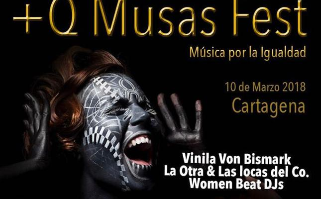 El CIM acoge el festival +Q Musas Fest