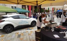 Toyota colabora en el certamen nacional de cortadores de jamón