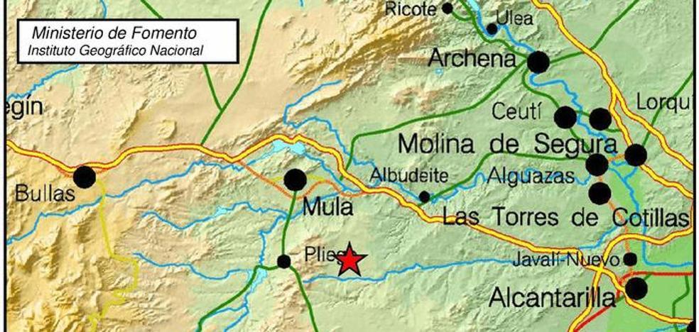 Pliego se despierta con dos pequeños terremotos con solo diez segundos de diferencia
