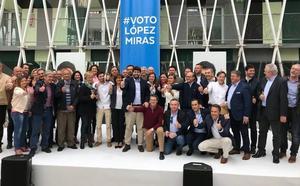 López Miras cierra su campaña electoral arropado por cargos públicos de su partido
