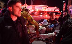 Cinco muertos al estrellarse un helicóptero en Nueva York