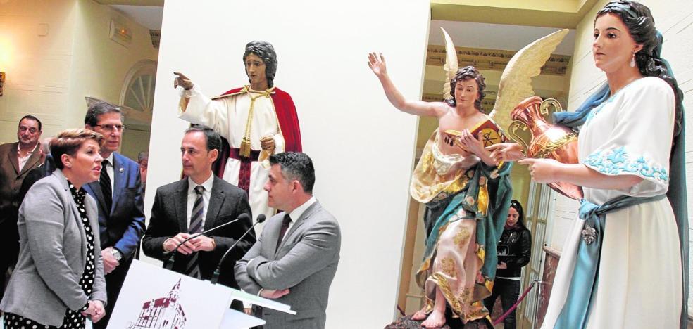 Cultura acaba la restauración de San Juan Marrajo y la Samaritana