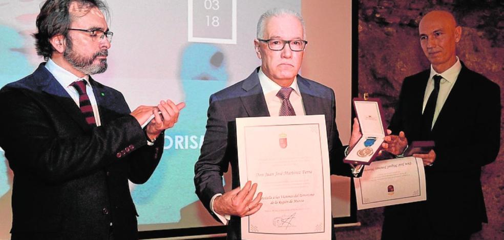 Medallas en el Día Europeo de las Víctimas del Terrorismo