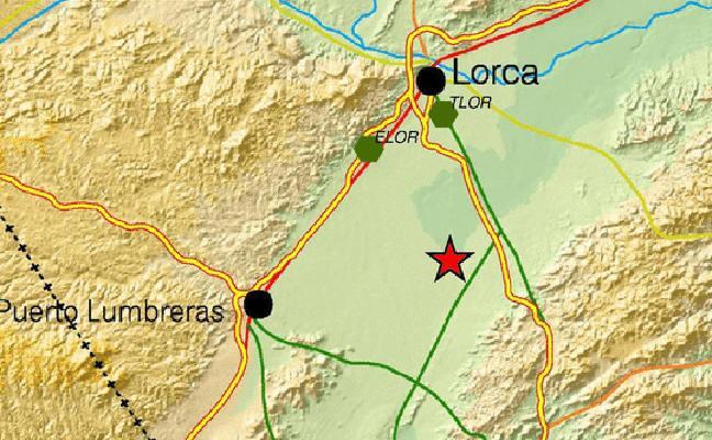 Lorca amanece entre temblores sísmicos
