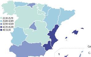 Murcia es la segunda región con mayor tasa de víctimas de violencia de género