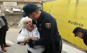 Bernabé, tras el incidente con 'la abuela del soterramiento': «Esto ya aburre y cansa»