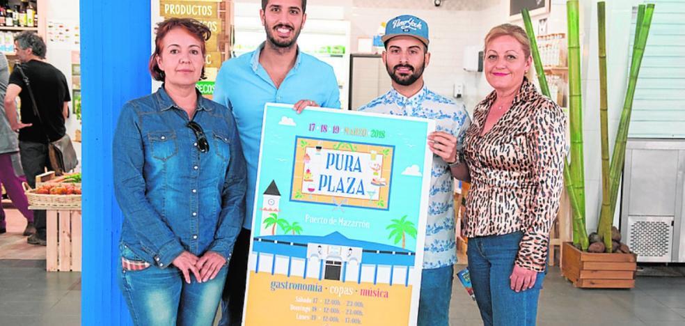 Actuaciones en la feria gastronómica Pura Plaza de Mazarrón