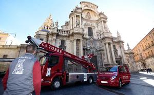 Mudanzas La Torre adquiere la grúa más alta de Europa