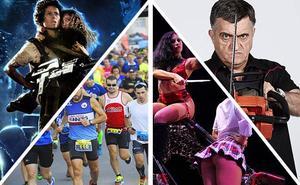 Alienígenas, deporte, un circo provocador y conciertos anticipan la primavera