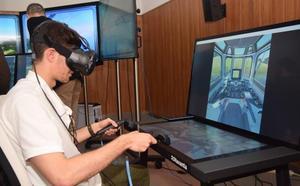 Navantia lleva a la UPCT su aula de simulación para adiestrar tripulación de buques