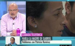 La madre de Gabriel llama en directo a Ana Rosa Quintana para exigir respeto a un periodista