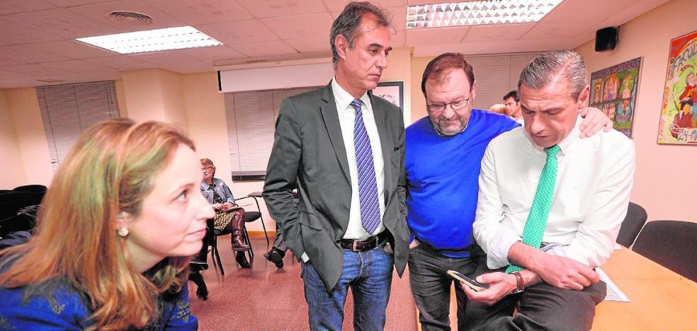 Lozano: «Desde el minuto uno, el rector electo es mi rector»