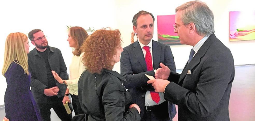 El Instituto Cervantes de Pekín muestra la obra de seis artistas murcianos