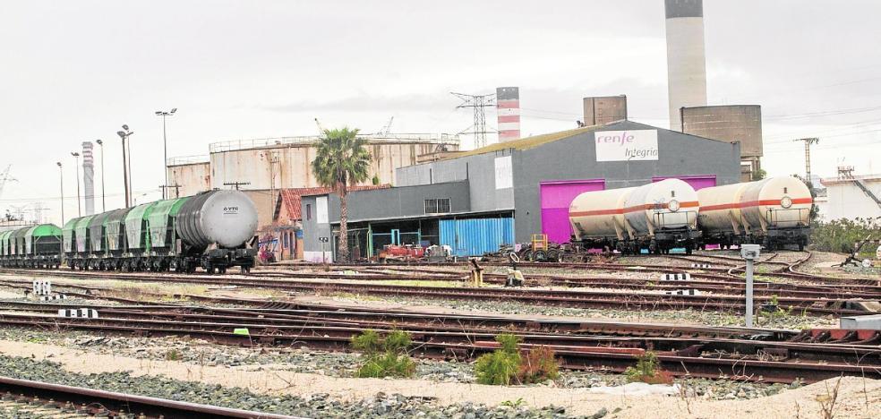 El Puerto ampliará la estación de trenes de Escombreras para mejorar la línea