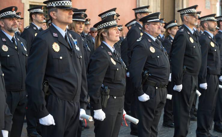 La Policía Local de Murcia conmemora San Patricio