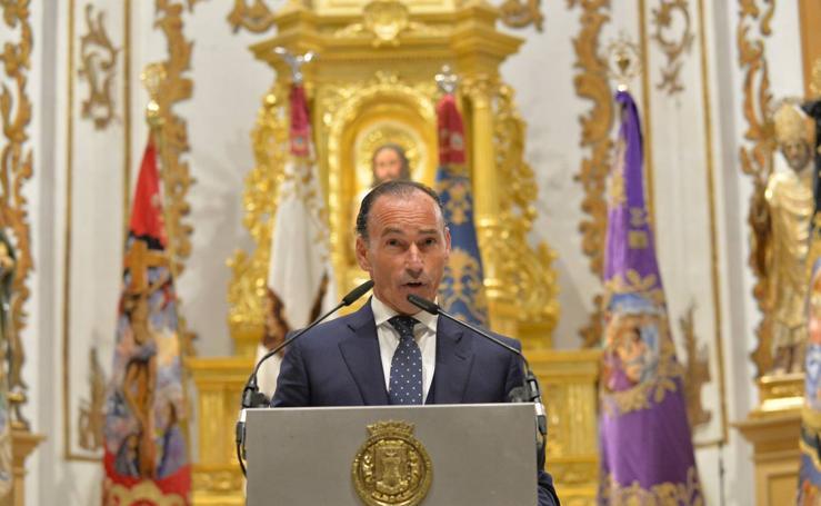 Pepín Liria pregona la Semana Santa de Lorca