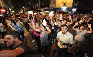 Independentistas catalanes se manifestarán en Murcia en apoyo a los vecinos de las vías