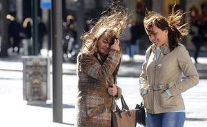Aviso naranja y situación de preemergencia por fuertes vientos en la Región