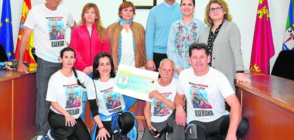 Miles de euros para el 'reto de Pablo'