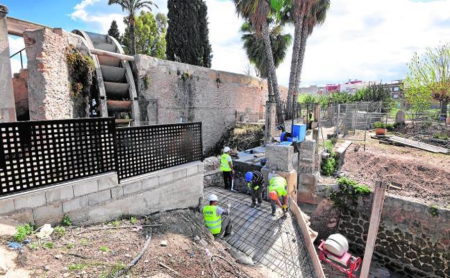 Comienza la restauración del puente de Las Pilas y el acueducto de la Noria