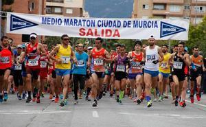 José María Alcaraz y María López Candela, vencedores de la Media Maratón de Murcia