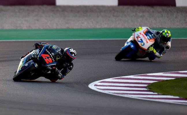 Bagnaia gana y Márquez salva una situación de riesgo