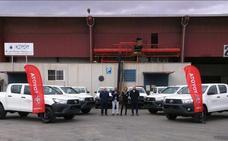 Toyota Labasa entrega diez Hilux a Alcantara Systems para un proyecto en Argelia