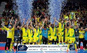 Otra hazaña del Jaén, campeón de la Copa de España