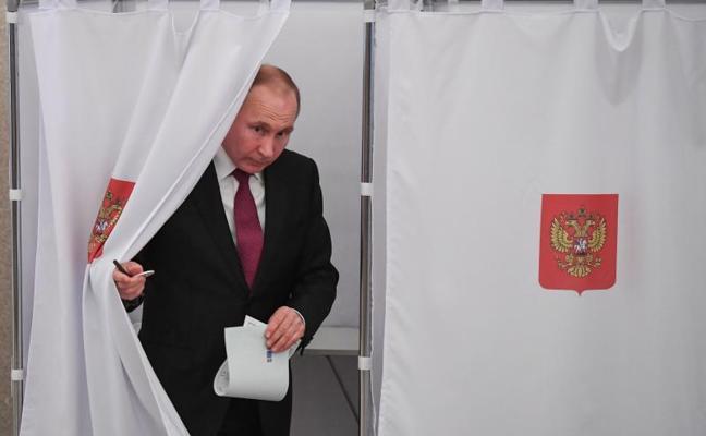 La participación en las elecciones rusas se sitúa en el 16,55%