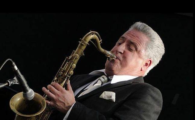 Los saxofonistas Ray Gelato & Enric Peidro