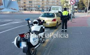 Dos detenidos y un denunciado en Murcia por conducir bebidos, sin permiso y sin seguro