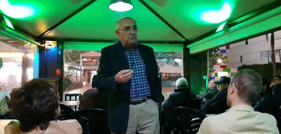 Alberto Garre critica «la falta de exigencia del PP regional a Rajoy»
