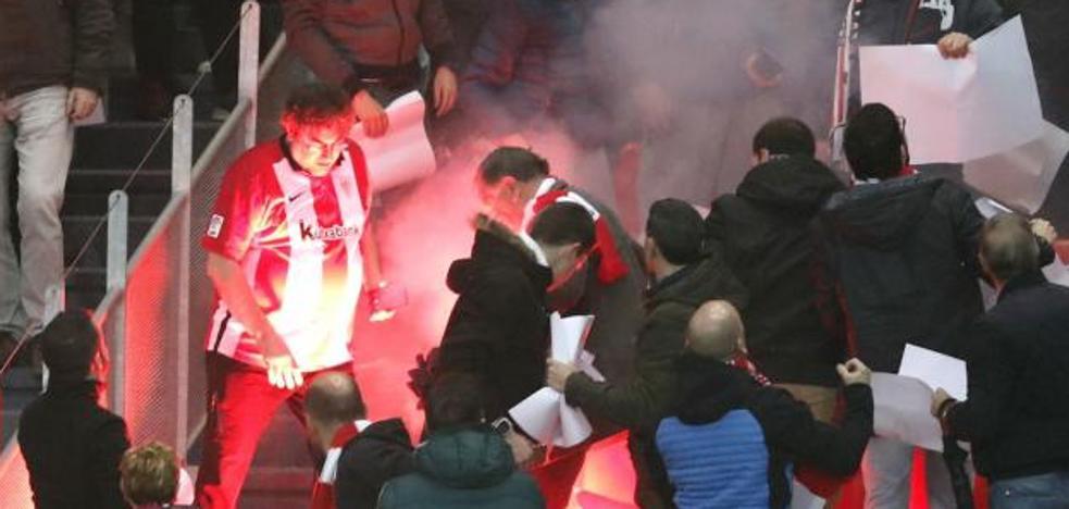 La UEFA abre expediente disciplinario al Marsella por los incidentes de San Mamés