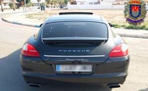 La Policía Local de Los Alcázares recupera un vehículo de alta gama que había sido robado