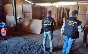 Una docena de detenidos en la Región por contrabando de tabaco