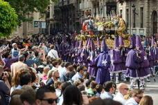 Procesiones de Murcia: Horario e itinerario de todas las procesiones de Viernes Santo (30 de marzo)