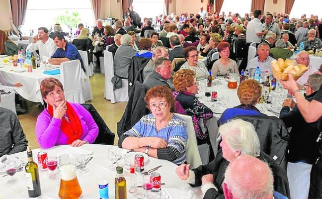 Jornada de convivencia de los pensionistas