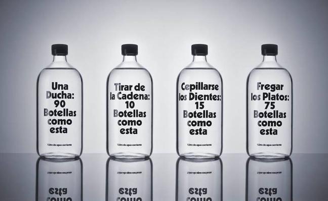 ¿Cuántas botellas llenaría el agua que dejas correr cuando abres el grifo?
