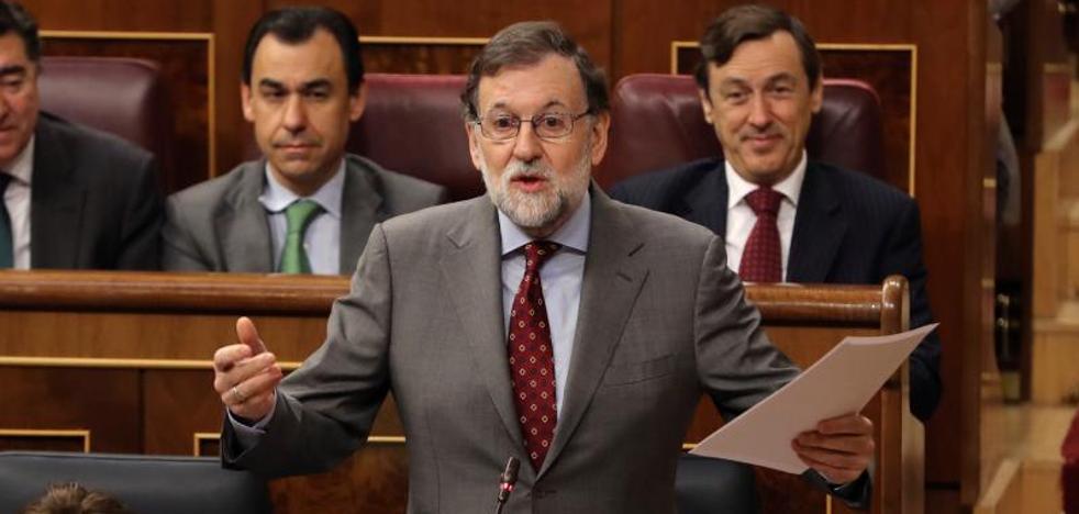 Rajoy reclama un «candidato limpio» mientras el independentismo apunta a Turull